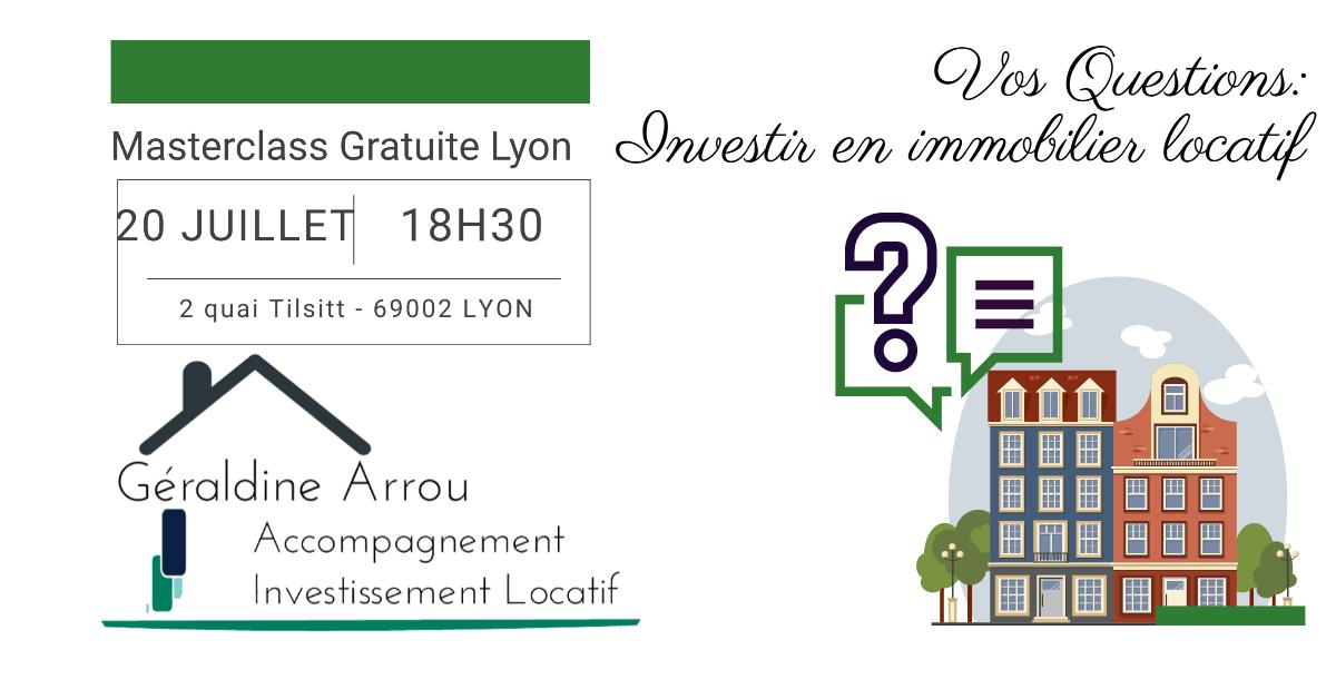investissemnt locatif immobilier Lyon Juiillet 2021